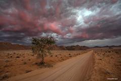 pink clouds (Anne.Berger) Tags: namibia namibrandnaturereserve eaglesnest wüste desert clouds wolken landscape landschaft sonnenuntergang sunset