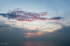 Manila bay sunset (mathieuo1) Tags: philippines manila sun sunset clouds cloudscape sky skyglory landscape ocean water shore shoot plain horizon color orange sunbathing harbour asia capital town deep depth composition travel explore discover peace relax chill nikon dlsr endless lines mathieuo wide wideangle panorama panoramic art nature seascape sea seashore season see view perspective