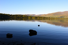 Dusk views (stevehirons) Tags: lakedistrict dusk sky blue water freshwater mountains nature explore trees