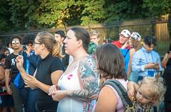 2017.07.26 Protest Trans Military Ban, White House, Washington DC USA 7657