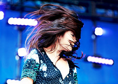 Her Hair was the Protagonist in Her Own Life Story (kirstiecat) Tags: sasamiashworth hair live concert band cherryglazerr movement motion pfork pitchfork festival pitchforkmusicfestival