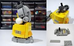 cherno yellow wip02-02 (chubbybots) Tags: lego nexoknights cherno alpha mech