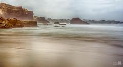 Marina (JoseQ.) Tags: led playa catedrales ribadeo mar marina galicia rocas agua arena largaexposicion filtrond