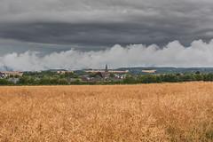 Gewitterstimmung bei Landkern/Eifel (oblakkurt) Tags: landkern eifel ortschaften