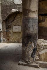 Ercolano (Herculaneum) - Casa degli Augustali (bautisterias) Tags: pompeiana campania southernitaly vesuvius italia italy ancientrome volcano ancient ruins vesuviana scavi archeology archeologia herculaneum archaeological areas