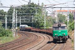 Fret dans la courbe (Lyonrail) Tags: sncf fret bb67400 stfons