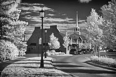 Northville, MI (dragos.tranca) Tags: livonia bw infrared canon t5 18135mm 3556 michigan cityscape