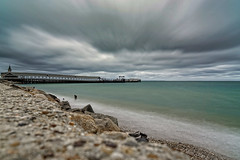 Summer vacation... not exactly what I was hoping for (mgstanton) Tags: marthasvineyard mv17 summer vacation clouds cloud drama beach oakbluffs steamshipauthorityrocks sonyalpha playmemoriessonycameraapp