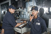 170721-N-ZS023-0026 (SurfaceWarriors) Tags: ussamericalha6 sailors shipsbridge standingwatch 1mc logbook boatswainsmate pacificocean