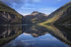 Geiranger Fjord (Thijs de Bruin) Tags: geirangerfjord norway noorwegen le leefilters littlestopper nature water mountains bergen