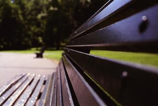 Public Park Benches. (35mm) | Exp. 05/2005 Fujifilm Fujicolor Superia 100.