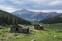 Mayflower Gulch Cabins (Aaron Spong Fine Art) Tags: mayflower gulch cabins temile range breckenridge leadville colorado mountain mountains