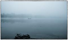 Ghost (kud4ipad) Tags: 2016 prokhorovka river fog morning boat water