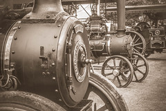 Powered by Coal. (Ian Emerson) Tags: steam tractionengine old fair countryside