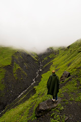 Stay with me (modestmoze) Tags: nature girlfriend woman hike hiker 2017 500px landscape rocks valley river water wet clouds fog mountains georgia travel explore summer july white sky green standing view beautiful grass naturephotograph day outside outdoors amazing fresh