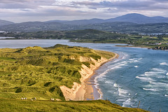 """""""Five Fingers Strand"""" (Gareth Wray - 10 Million Views, Thank You) Tags: landscape view county donegal ireland irish countryside nature grass mts gareth wray photography strabane nikon d810 nikkor wide angle scenic drive tourist tourism location visit sight site summer cloudy day photographer vacation holiday europe outdoor clouds grassland sky hill atlantic swilly inishowen carndonagh strand beach sea ocean pebbles sand sandy bay head field malin five finger fingers coast seaside shore lagg church chapel wild way water 70200mm dunes knockamany bens"""