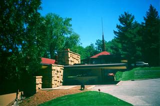 Taliesin Home Studio School  ~ Frank Lloyd Wright  Estate ~ East ~ Historic