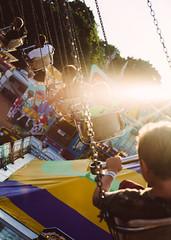 Live Like the Setting Sun (davelawrence8) Tags: 2016 fair goldenhour jackson summer sunset swing michigan usa