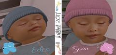 ❤Eden et Sun❤ (dylhanbrinner) Tags: bb baby twin jumeaux eden sun children bébé zooby julian sl secondlife virtual love world fantsy mystical