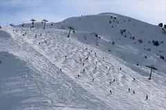 Francja, Alpy, La Plagne (HALGAW) Tags: laplagne francja góry mountain snow śnieg widok panorama narty sky trasanarciarska wyciągnarciarski narciarze zima winter white alpy ski skilift skirun landscape skier