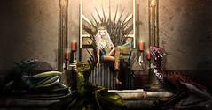 Khaleesi and her dragons (meriluu17) Tags: astralia got gameofthrones series war iron swordthrone throne khaleesi daenerys mother motherofdragon dragon dragons fantasy fantastical magic magical surreal victory kingdoom queen king royal people game thrones