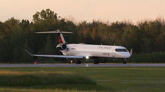 Express Sunset (Ben_Senior) Tags: ottawamcdonaldcartierairport ottawainternationalairport ottawaairport yow cyow ottawa ontario canada bensenior planespotting airliner airline airplane plane aircraft aviation jet sunset sunlight shine shining runway takeoff lineup taxi taxiing cgjzs bombardier crj crj9 crj900 ac aca jz jza jazzair regional regionaljet regionalairline rj ttail aircanadaexpress aircanadajazz newlivery livery