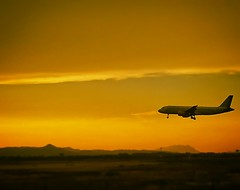 Flying!! (davidperez52) Tags: fly airplane sunset vuelo atardecer vueling beautiful