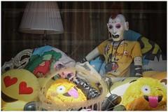 Wicker Park (BalineseCat) Tags: wicker park flatiron building doll artist jojo baby