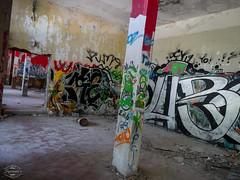 E-M1MarkII-13. Juli 2017-15-30-53 (spline_splinson) Tags: consonno graffiti graffitiart graffity italien italy lostplace losttown ruin ruinen ruins lombardia it