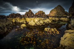 Low Tide Location (Augmented Reality Images (Getty Contributor)) Tags: canon cliffs clouds colours landscape leefilters longexposure lowtide morayfirth portknockie rocks scotland seaweed water waves