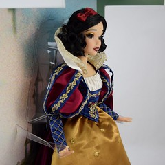 2017 D23 Snow White Limited Edition 17 Inch Doll - Disney Store Purchase - Deboxing - On Backing - Midrange Left Front View (drj1828) Tags: d23 2017 expo purchases merchandise limitededition artofsnowwhite snowwhiteandthesevendwarfs snowwhite princess deboxing certificateofauthenticity le1023