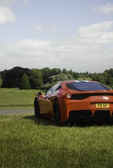 Speciale with a view. (ioanbrowne) Tags: red fastcar fast speed supercar stripes icon v8 italian 458speciale speciale 458 ferrari