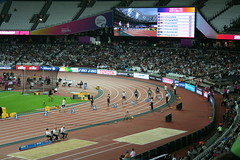 T42 - 200m start (h_savill) Tags: london 2017 world para athletics champs stratford olympic stadium athlete sport compete medal track 200m t42 richard whitehead