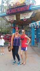 """Nicole and Christie at California Screamin' in Disney's California Adventure • <a style=""""font-size:0.8em;"""" href=""""http://www.flickr.com/photos/109120354@N07/35145874104/"""" target=""""_blank"""">View on Flickr</a>"""
