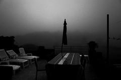 La terrasse, une veille de pleine lune... (woltarise) Tags: france terrasse 01ham arrivée maison ardèche anniversaires lune pleine orages alerteorange brouillard pluie vents