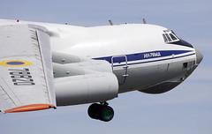 Ilyushin Il-76 (Bernie Condon) Tags: ilyushin il76 cargo transport ukraine ukrainian airforce tanker passenger freight aircraft plane flying aviation riat airtattoo tattoo ffd fairford raffairford airfield display airshow uk 2017