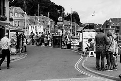 Street scene at Padstow (Geordie_Snapper) Tags: canon5d3 canon70200mmf4islusm canon2470mm cornwall june padstow summer