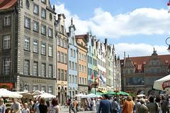Gdansk (ChiralJon) Tags: gdansk ulica dluga długa street urban poland polska market stall shoppers tourists turyści pologne польша гданьск 格但斯克 danzig traditional polonia gdańsk