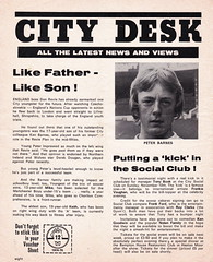 Manchester City vs Chelsea - 1974 - Page 8 (The Sky Strikers) Tags: manchester city chelsea maine road football league first division match magazine 10p