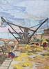 Pont Royal vu du quai d'orsay et la machine à guinder - Jongkind - 1852 (Luc II) Tags: jongkind