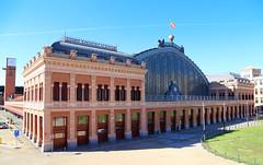 2017 SPM0010 Atocha train station in Madrid, Spain (teckman) Tags: 2017 europe madrid spain comunidaddemadrid es