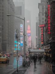Winter in New York City (m.gallenkamp) Tags: newyork ny nyc city cityscapes winter snow schnee usa urban urbanphotography streetphotography street