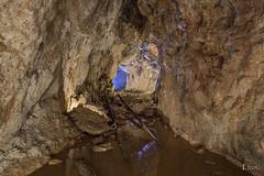 Inside an abandoned mine (Lion Exploration) Tags: misterious exploration quarry carrière underground souterrain cave grotte ruines rock lost mineral culture mine mining