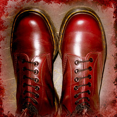 IMG_093211 (RythiéInBlack) Tags: 1460 boots airwair oxblood drmartens doc docmartens dms