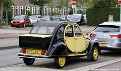 Citroën 2CV Charleston 1986 (XBXG) Tags: pg35sj citroën 2cv charleston 1986 citroën2cv 2pk deuche deudeuche eend geit 2cv6 verspronckweg haarlem nederland holland netherlands paysbas vintage old classic french car auto automobile voiture ancienne française vehicle outdoor