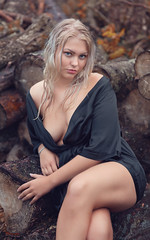 (Øyvind Bjerkholt (Thanks for 41 million+ views)) Tags: fashion glamour beauty portrait blonde woman girl female she beautiful gorgeous pretty sexy sensual cleavage busty look seduce canon dof nature outdoors elegance classy feminine arendal norway