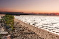 Rewa, Poland (P.W.Kozlowska) Tags: sunset poland baltic sea seashore sand calmness landscape evening clouds beach