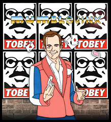 Shout Out Sticker to Tobey - 06/28/2017 (Mr. MumbleJinx) Tags: mumblejinx tobey stickers streetart stickerporn pittsburgh michigan