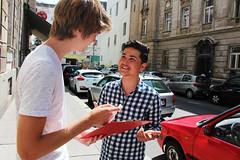 Unterstützungserklärungen Leopoldstadt 06 (KPÖ PLUS) Tags: 2017 nationalratswahl kpöplus kpö politik aktion wien leopoldstadt unterstützungserklärungen
