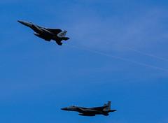 Lakenheath F-15's (G Gibson) Tags: aircraft riat 2017 usaf air force thunderbirds raptor f22 kc135 f15 lakenheath belgian f16 airbus a400m french dassault mirage osprey 110061 652 3xn 3xc ec404 88602 80118 094180 fa123
